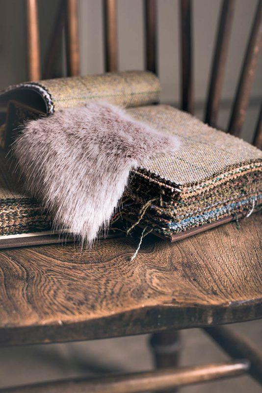 Fur swatch